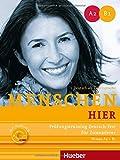 Menschen hier. Prüfungstraining Deutsch-Test für Zuwanderer mit Audio-CD: Niveau A2 - B1. Deutsch als Zweitsprache