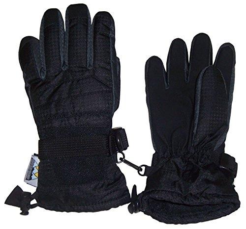 NIce Caps Mens Thinsulate and Waterproof Premium Winter Ski Gloves