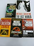 Michael Crichton Set (Sphere, Congo, The Andromeda Strain, The Lost World, Jurassic Park)
