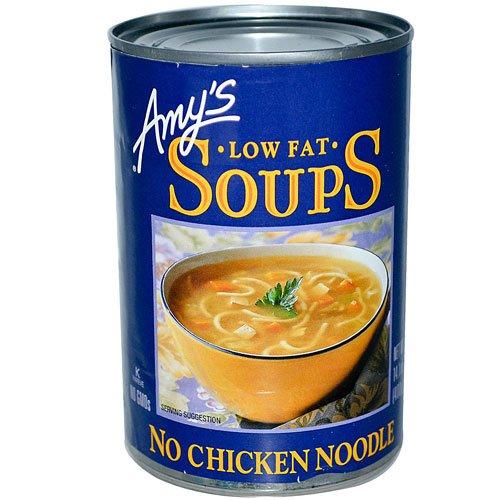 Amy's Organic Soup Low Fat No Chicken Noodle -- 14.1 fl oz - 2 pc