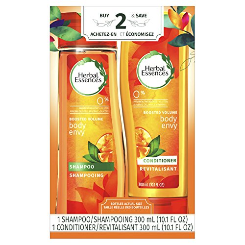 Herbal Essences Body Envy Shampoo and Conditioner Set, 300 mL Each (Packaging may vary)