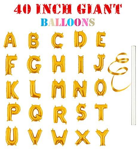 Gold Foil Letters - 9