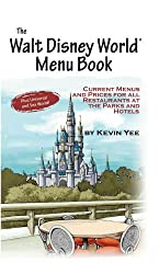 The Walt Disney World Menu Book