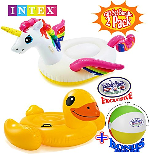 Matty's Toy Stop Inflatable Pool Floats Unicorn (79