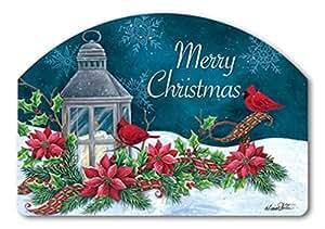 "Magnet Works Yard DeSign - Cardinal Christmas, 14"" x 10"""