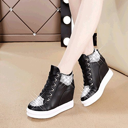 GUNAINDMXShoes/Shoes/Shoes/Shoes/All-Match/Spring/Autumn And Winter 6029 black