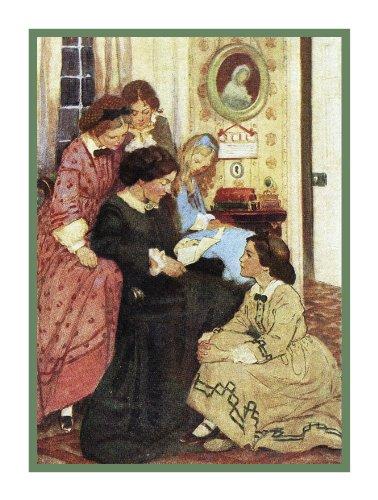 (Orenco Originals Little Women by Jessie Willcox Smith Counted Cross Stitch Pattern)