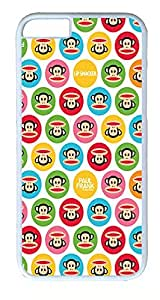 iPhone 6 Cases, ACESR Plastic Hard Case Cover for Apple Iphone 6 (4.7inch Screen) White Border Paul Frank