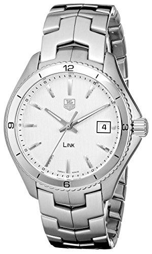 Tag Heuer Bezel Bracelet (TAG Heuer Men's WAT1111.BA0950 Stainless Steel Watch with Link Bracelet)