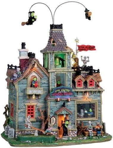 Lemax Spooky Town Little Monsters School House Amazon Ca Home Kitchen