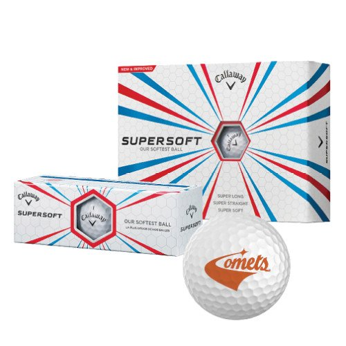 UT Dallas Callaway Supersoft Golf Balls 12/pkg 'Official Logo' by CollegeFanGear