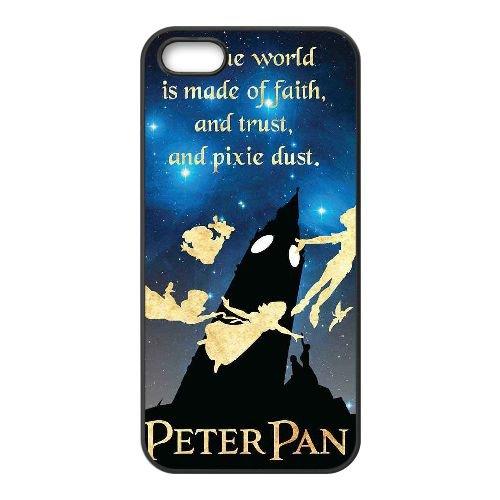 Peter Pan 012 coque iPhone 4 4S Housse téléphone Noir de couverture de cas coque EEEXLKNBC19247