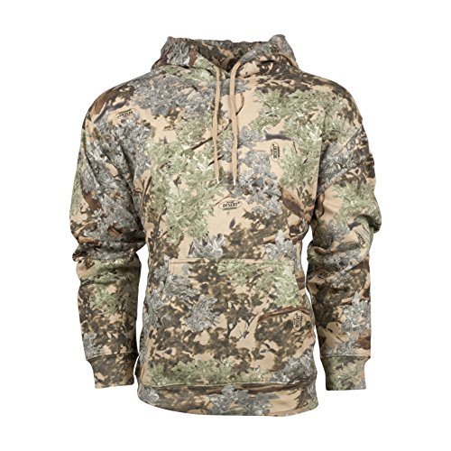 King's Camo Cotton Hunting Hoodie, Desert Shadow, Medium by King's Camo