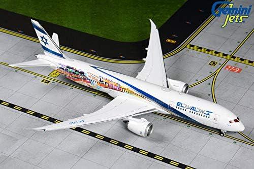 [해외]GeminiJets GJELY1882 1:400 El Al Boeing 787-9 Las VegasSan Francisco / GeminiJets GJELY1882 1:400 El Al Boeing 787-9 Las VegasSan Francisco