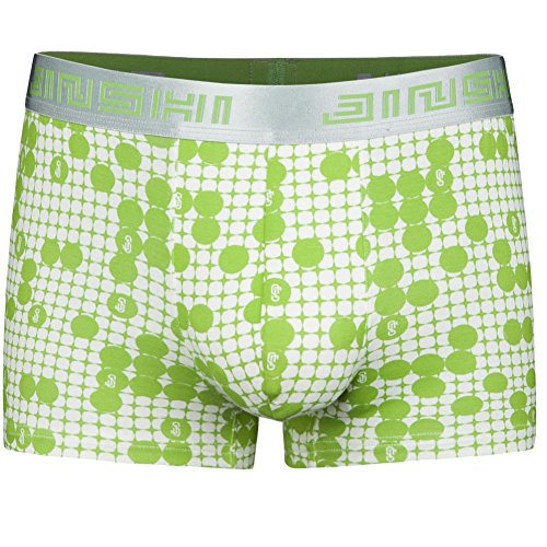 JINSHI Mens Underwear Soft Bamboo Boxer Briefs