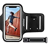 Mpow Cell Phone Armband for iPhone XR XS X 8 7 6 6s, Samsung Galaxy S9/J5/J3 【Up to 6.1 Inch】 Sweatproof Sports Running Armband with Key Holder & Extension Strap, Suitable for Exercise