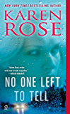 No One Left to Tell (Romantic suspense Book 13)