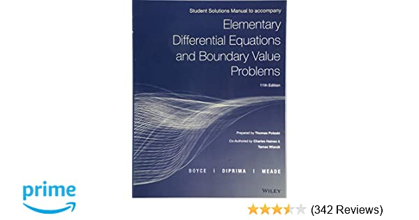 elementary differential equations and boundary value problems 11 pdf