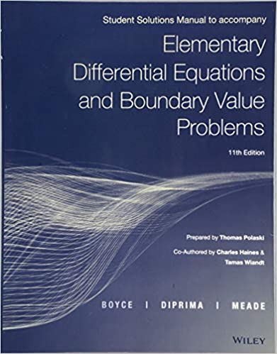 Elementary Differential Equations and Boundary Value