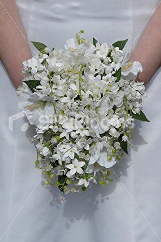 Bouquet Sposa Gelsomino.Bouquet Da Sposa Di Gelsomino Bianco Avorio E Gelsomino Della