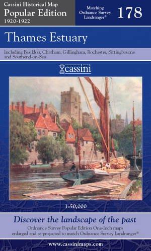 The Thames Estuary (Cassini Popular Edition Historical Map) pdf epub