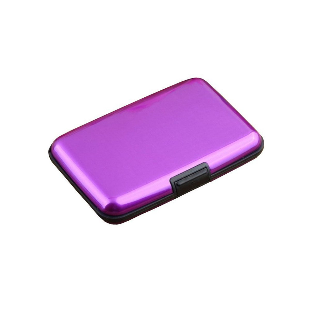 Queenbox Aluminium Metall Wasserdichte Kartenhalter RFID Anti Scan Kreditkarten Debit ID Kartenhalter Fall Abdeckung