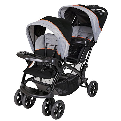 Cheap Baby Trend Double Sit N Stand Stroller, Millennium Orange