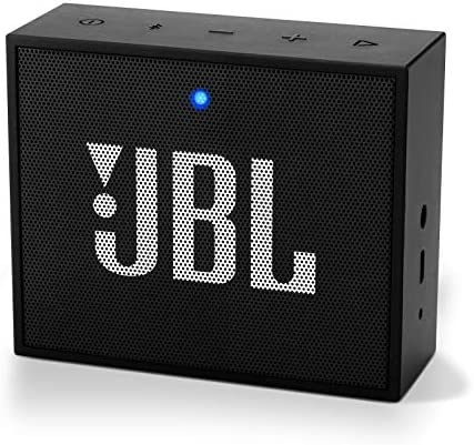 JBL GO Portable Bluetooth Speaker – Grab and Go Wireless Boom Box with Built-in Strap-Hook – Black