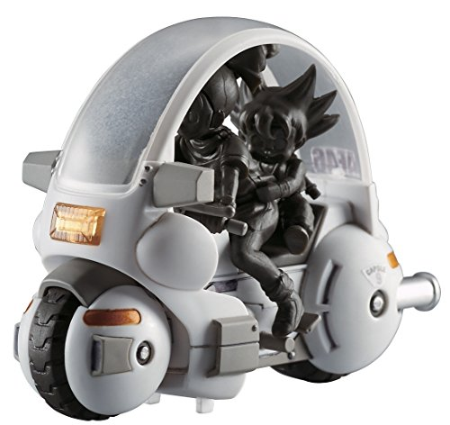 Dragon Ball Mecha Collection Vol.1 Bulma's capsule NO.9 motorcycle Plastic Model Kit(Japan Import)