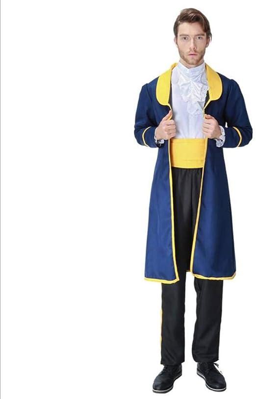 ASDF Disfraz de Halloween Disfraz de Príncipe Princesa Uniforme ...