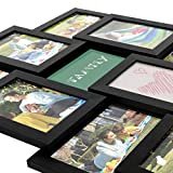 SONGMICS Collage Picture Frames for 12 Photos in 4