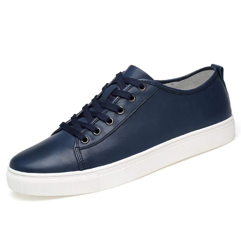 HILOTU Zapatilla De Deporte De La Moda De Los Hombres Casual Clásico Color Puro Sencillo Bajo-Top Ligero Zapatos Deportivos. (Color : Negro, tamaño : 36 EU): Amazon.es: Hogar