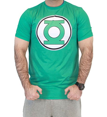 DC Comics The Green Lantern Men's Performance Compression Athletic T-Shirt (Adult XX-Large)
