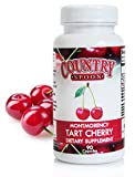 Cheap Tart Cherry Capsules – Made with Montmorency Tart Cherries, 90 Vegetarian Capsules by Country Spoon