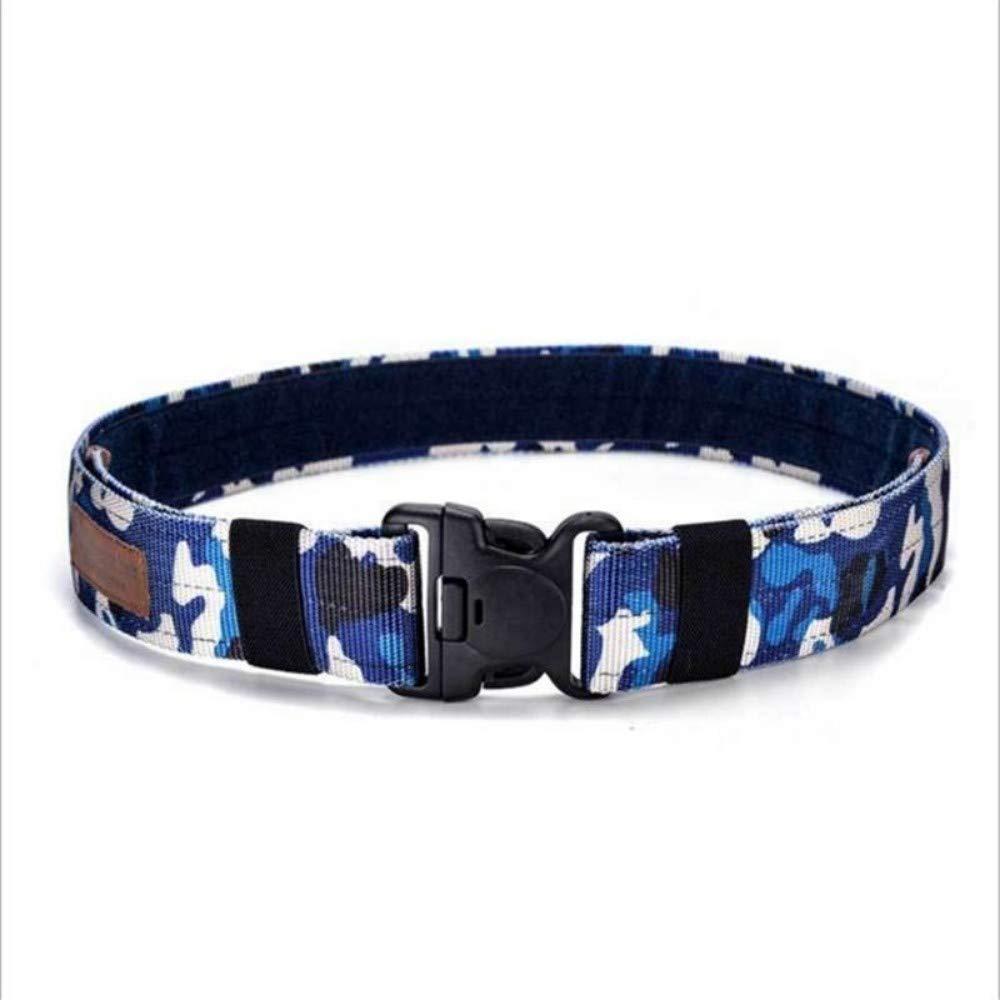 DAMOWANG Cintur/ón De Lona,Cintur/ón T/áctico Combate del Ej/ército De Liberaci/ón R/ápida Correas Correa T/áctica Hombres De Moda Cintur/ón De Lona Azul De Caza Al Aire Libre