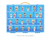 Life Made Better Toy Storage Carrying Box for LOL Surprise Dolls. The Box is Not Created by LOL Surprise! Figures Playset Organizer. Accessories for Kids by LMB
