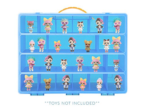 Storage Carrying Box For LOL Surprise Dolls. The Box Is Not Created By LOL Surprise! Figures Playset Organizer. Accessories For Kids by LMB (Worry Doll Box)