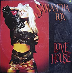 Samantha fox love house 1988 vinyl maxi single for House music 1988