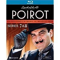 Agatha Christie's Poirot: Series 7 & 8  [Blu-ray] [Importado]