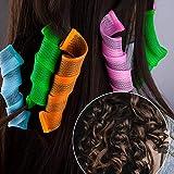 LUTER 32pcs Hair Spiral Curlers No Heat Magic