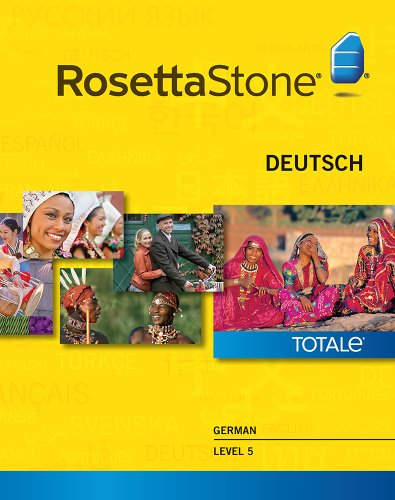 Rosetta Stone German Level 5 for Mac [Download]