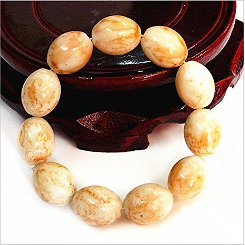- Imitation agate beads bracelet gemstone China Ping An Fu wind beaded bracelet bead bracelet stretch bracelet length 14