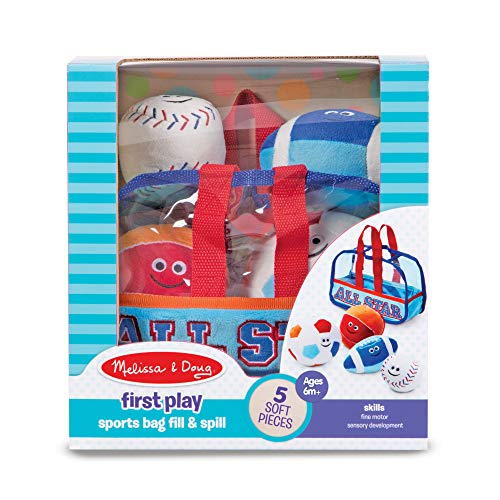 51le1WfGmpL - Melissa & Doug Sports Bag Fill and Spill Baby and Toddler Toy