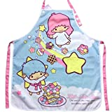 Little Twin Stars Kitchen Gardening Adjustable Adult Cotton Apron with Pocket