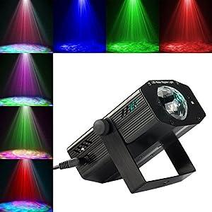 51le2NmdcHL. SS300  - GUSODOR-Bhne-Licht-LED-Wasser-Wave-Ripple-Effect-Disco-Beleuchtung-mit-Fernbedienung-und-Musikmodus-Farbwechsel-Ozean-Wellen-Lichteffekte-fr-Zimmer-Hochzeit-Geburtstagsfeier-Weihnachten-Dekoration