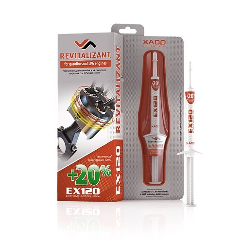 XADO Revitalizant® EX120per motori auto Gas e benzina XA 10035