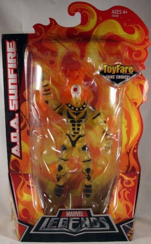 Marvel Legends ToyFare Fan's Choice Exclusive Action Figure A.O.A Sunfire