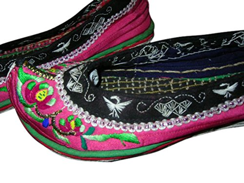 Shoes US6 103 Size Women Handmade Ladies Embroidered wqtWgX