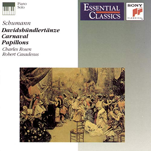 Schumann: Davidsbundlertanze / Carnaval / Papillons (Essential Classics)