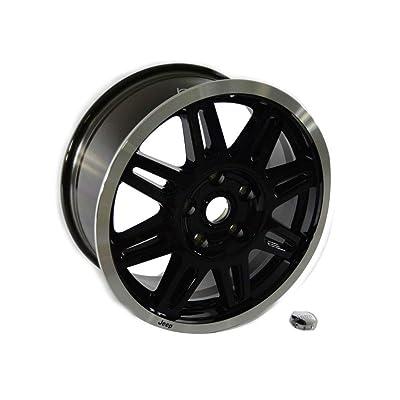 """Mopar 82211231 17"""" Black Cast Aluminum Wheel: Automotive"""